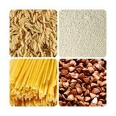 Flour and cereal products, macaroni