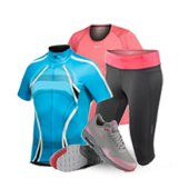 Clothes for sports, tourism and active recreation