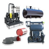 Oil refinery equipment