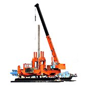 Machinery and equipment for piling