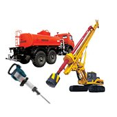 Rental of mining and oil & gas exploration equipment