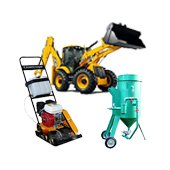 Construction equipment rent, hire,  leasing