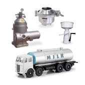 Equipment for dairy plants