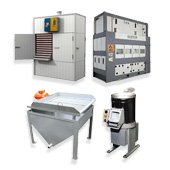 Equipment for processing of products