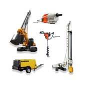 Geological survey and drilling equipment