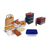 Food packaging and wrapping materials