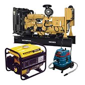 Rent, rental, leasing of electrical equipment